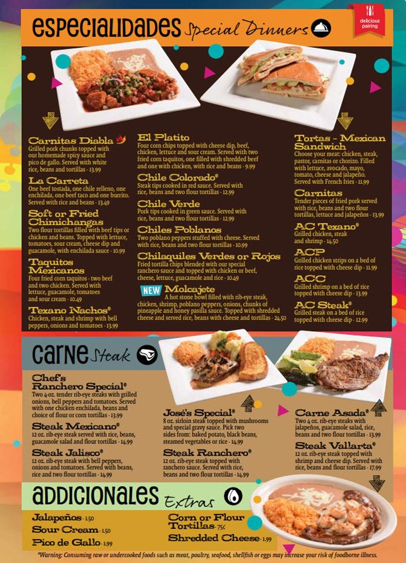 Special Dinners Fiesta 3